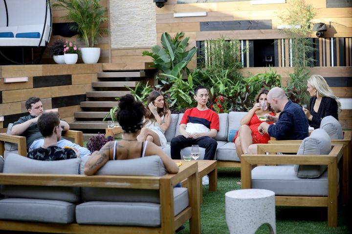 Housemates in the 2020 'Big Brother Australia' house