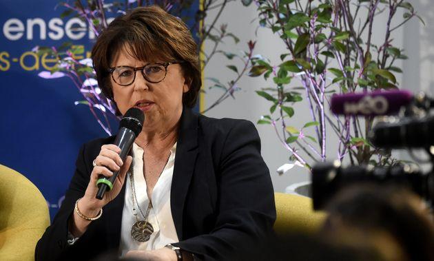 Martine Aubry, ici en février à Lille, plaide pour un