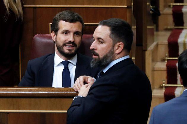 Pablo Casado y Santiago