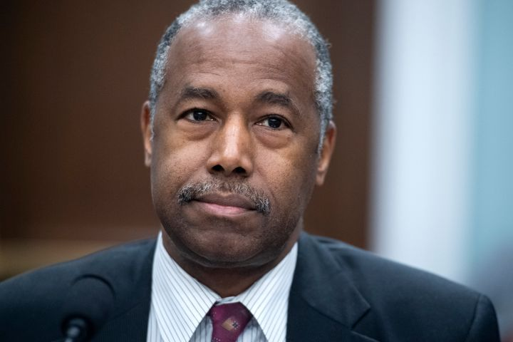 Ben Carson, the secretary of housing and urban development, at a March congressional hearing.