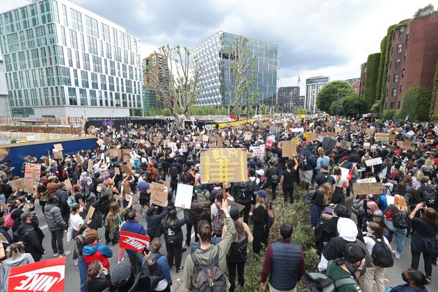 Thousands Gather Across The UK As Anti-Racism Demonstrations Continue