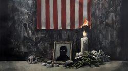 Banksy rend hommage à George Floyd avec une oeuvre dénonçant l'échec du