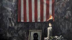 뱅크시가 '흑인 차별'에 저항하는 그림을