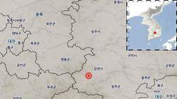 경북 김천에서 2주 만에 또다시 지진이