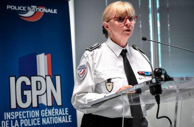 Brigitte Jullien, la directrice de l'IGPN, a dévoilé lundi 8 juin le rapport 2019 de la...