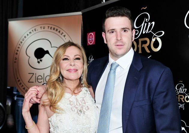 Ana Obregón y su hijo