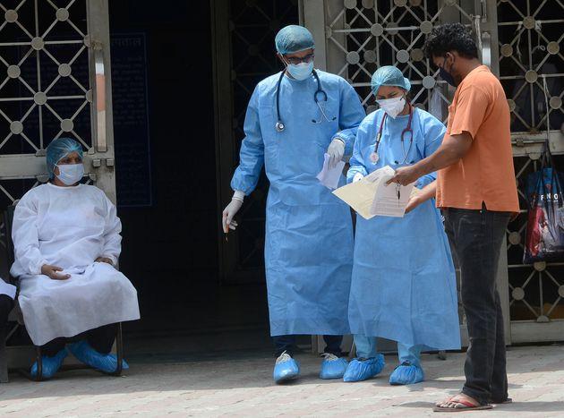 LNJP Hospital during