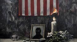 Banksy homenajea a George Floyd y a la lucha antirracista en su última