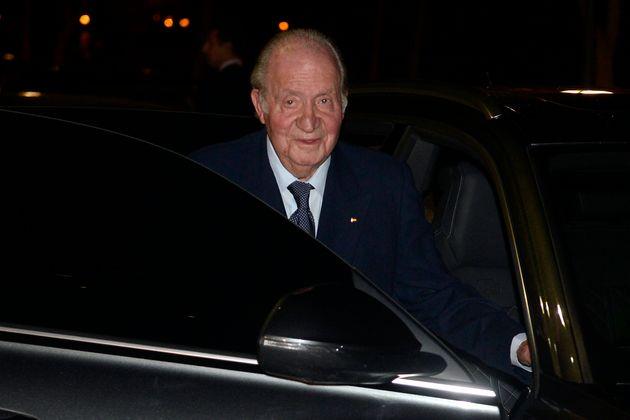 Juan Carlos I, fotografiado el 17 de febrero de 2020 en