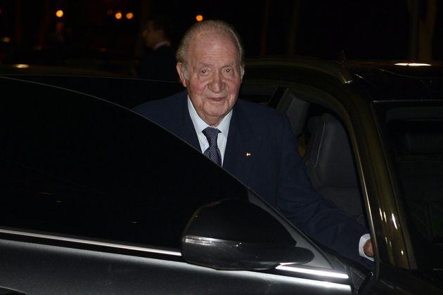 El rey Juan Carlos el pasado 17 de febrero, en
