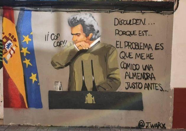 El mural de Fernando Simón en Valencia, obra de