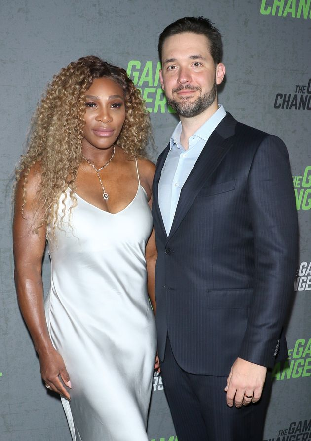 Williams and Ohanian in September 2019 in New York