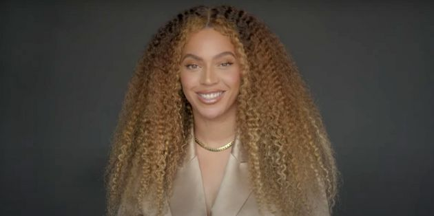 Beyoncé speaking on YouTube's Class Of 2020