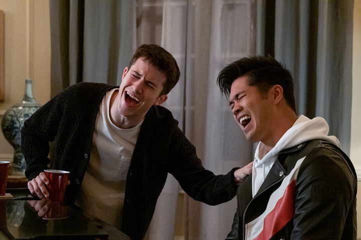 """Dylan Minnette and Ross Butler in """"13 Reasons Why"""""""