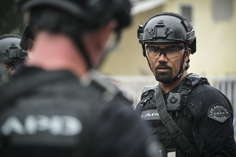 """Shemar Moore as Daniel """"Hondo"""" Harrelson on """"S.W.A.T."""""""