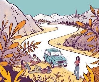 Séverine Laliberté & Elléa Bird - Hippie Trail - Ed.