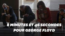 Les démocrates s'agenouillent pour George Floyd au congrès