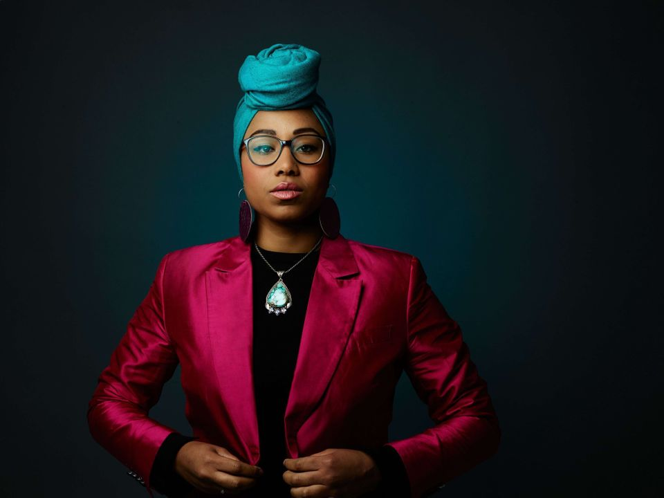 Broadcaster Yassmin, who has asked us not to use her