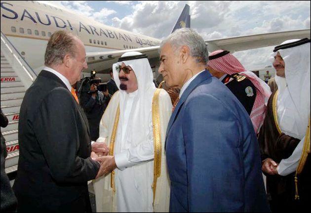 Juan Carlos I y el rey Abdalá de