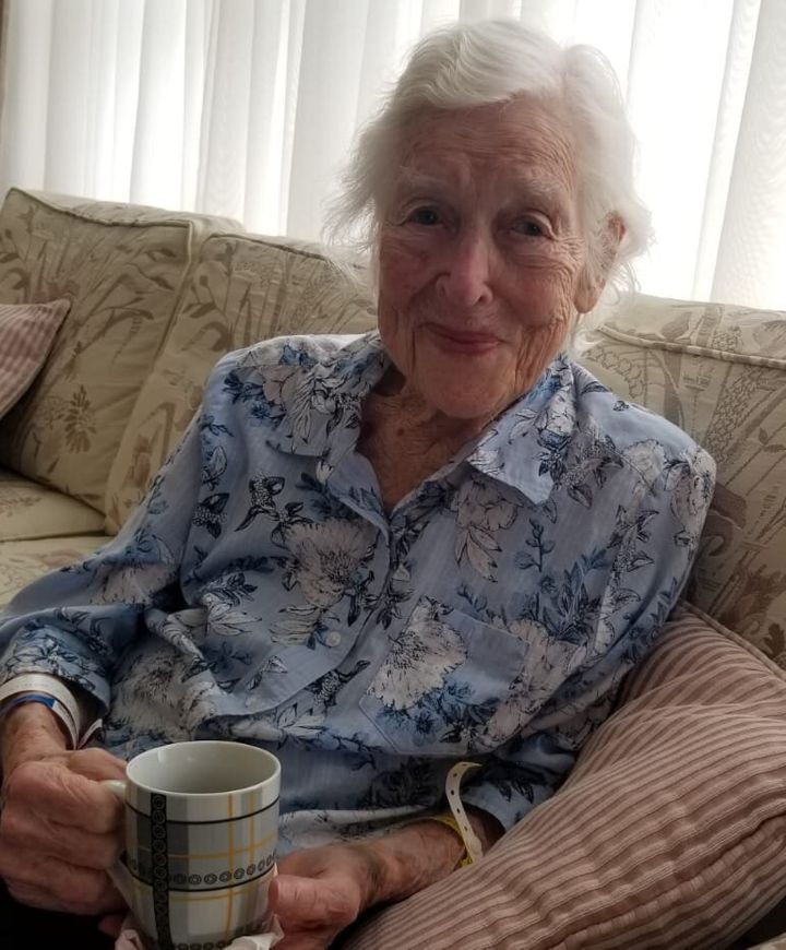 Rosemary McCabe in a recent photo provided by her grandson Andrew Spencer.