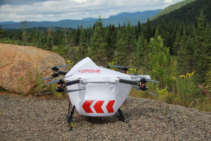 Drone Delivery Canada has partnered with the Beausoleil First Nation community in Ontario to deliver COVID-19 related medical supplies.