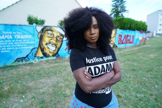 Assa Traoré, la sœur d'Adama Traoré, devenue la figure du mouvement contre les violences...