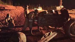 Κατάσβεση φωτιάς σε πετρελαιοπηγή με αντιαρματικό πυροβόλο