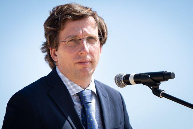 José Luis Martínez-Almeida, presentando la expansión de IFEMA en Valdebebas el 8...