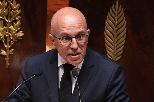 Éric Ciotti, ici à l'Assemblée nationale le 28 avril