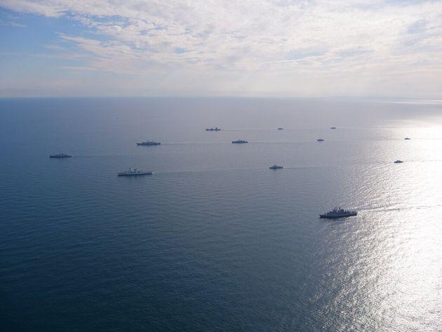 Φωτογραφία αρχείου. Συμμετοχή του ελληνικού Πολεμικού Ναυτικού στην πολυεθνική άσκηση BREEZE