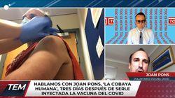 La experiencia de un enfermero español que ha probado la vacuna contra el