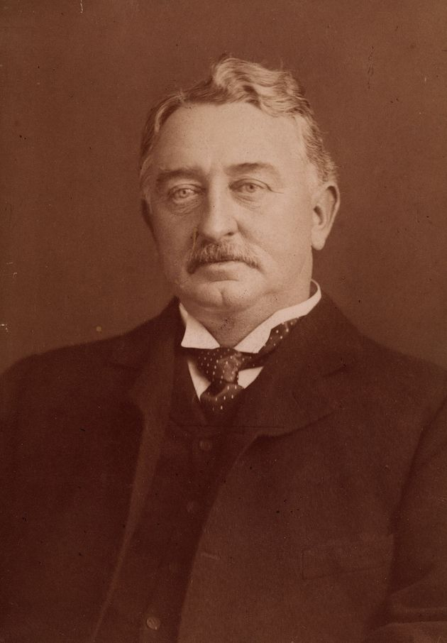 Cecil John Rhodes photographed in