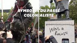 Les statues, nouvelles cibles du mouvement