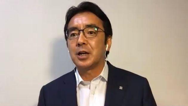 ローソン社長の竹増氏