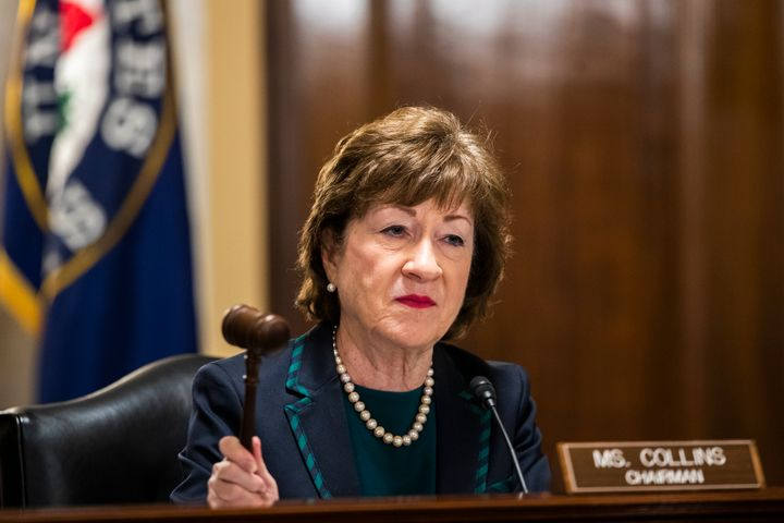 Republican Sen. Susan Collins of Maine was endorsed by Everytown for Gun Safety Action Fund in 2014. This year, the group is backing one of her Democratic challengers.