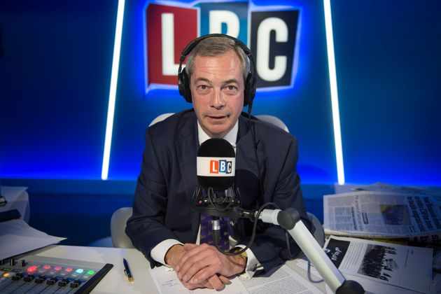 Exclusive: Global Media Staff Demanded 'Racist' Nigel Farage's Removal From LBC