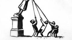 Banksy propõe nova versão de estátua de comerciante de escravos derrubada na