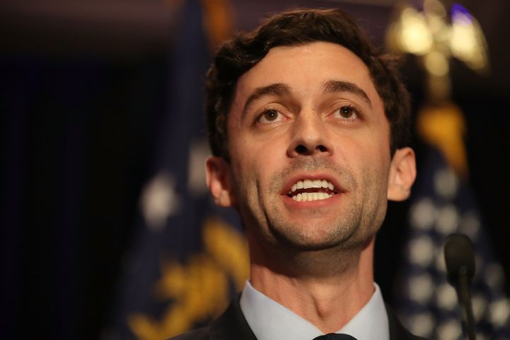 Democratic candidate Jon Ossoff appeared to pass the 50% mark in his primary to move on to the general election without a run