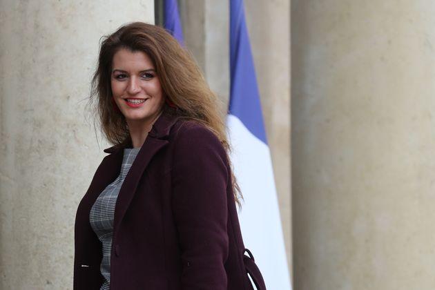 Marlène Schiappa (ici le 15 janvier à l'Élysée) a défendu la proposition...