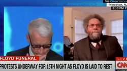 Anderson Cooper Moved To Tears During Interview With Cornel West About Racial