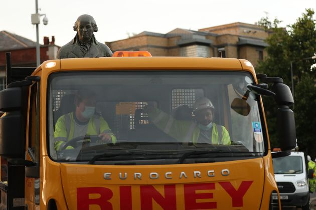 Statue Of Slaver Robert Milligan Is Torn Down In East