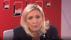 Marine Le Pen appelle à voter Rachida Dati à
