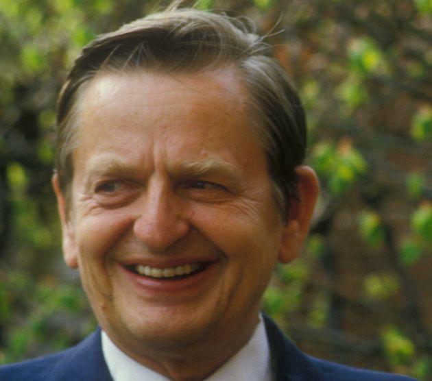 Olof Palme, fotografiado en mayo de 1984 en Estocolomo, Suecia (Francis Apesteguy/Getty