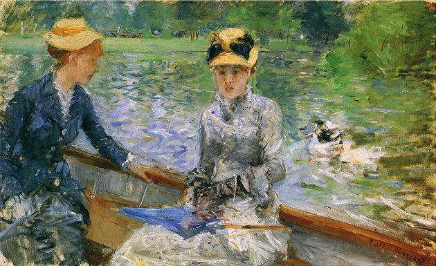 L'arte di Berthe Morisot, prima pittrice