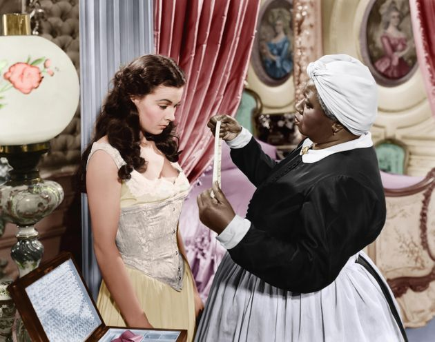 Vivien Leigh and Hattie McDaniel in Gone With The