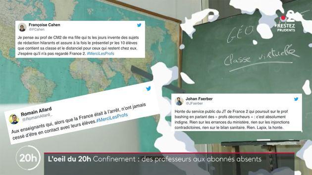 Sur France 2, un reportage du JT s'est attiré l'ire du corps enseignant après avoir dénoncé les