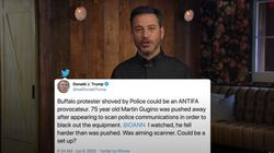 Jimmy Kimmel Gives Simple Reason Why Trump's Protester Conspiracy Is