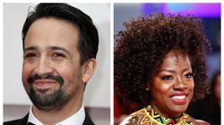 Λιν-Μανουέλ Μιράντα, Βαϊόλα Ντέιβις, Σάντρα Ο κατακρίνουν τον ρατσισμό στην βιομηχανία του