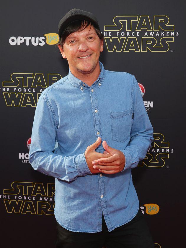 Australian comedian Chris