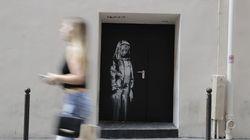 L'œuvre de Banksy en hommage aux victimes du Bataclan